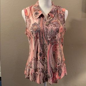 Tommy Hilfiger Sleeveless top. NWT    Large